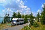 """Campingplatz """"Camping Hain"""" am Hainer See"""