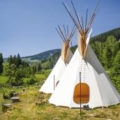 Llama trekking / Tipi Camp Rudolf Reiter