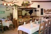 Forsthaus Luchsenburg | Restaurant - Blockhaussiedlung - Hotel