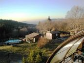 Camping auberge base VTT des myrtilles base entrainement des mont de la montagne bourbonnaise